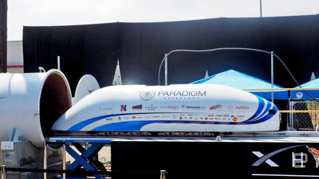 A hyperloop route may zip between Kansas City and St. Louis
