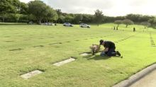 93-year-old man takes 3 buses a day to visit his wife's grave