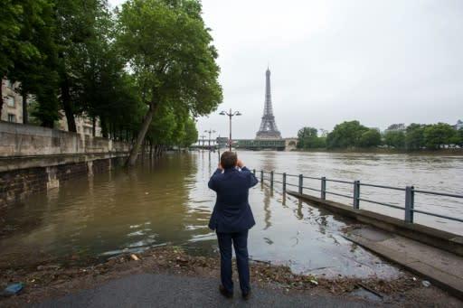 Frankreich Hochwasser