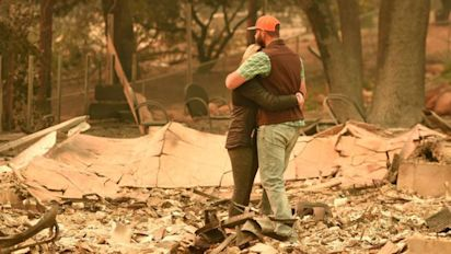 Heartbreaking images show devastation of Calif. fire