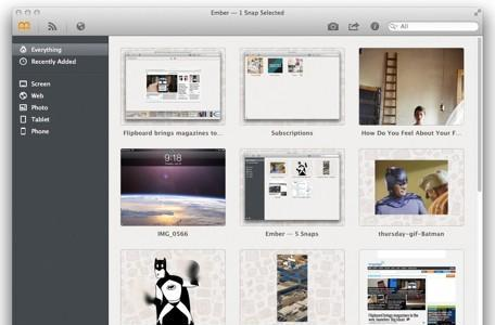 Ember makes web clipping, digital scrapbooking a breeze