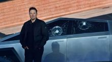 Tesla Truck Demo Goes Awry as Shatterproof Windows Shatter