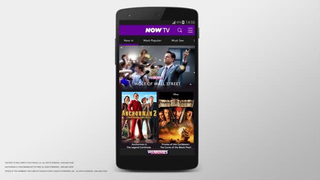 Vodafone and Sky grow ever closer as Now TV becomes a new 4G perk