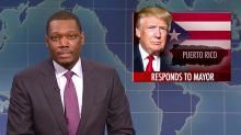 Michael Che's Trump remarks saved the 'SNL' season premiere