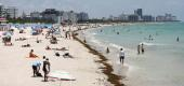 Some Fla. beaches have reopened with restrictions to limit the spread of the coronavirus. (Getty Images)