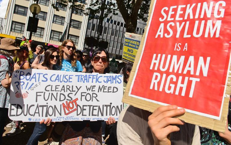 report on refugee rights in australia