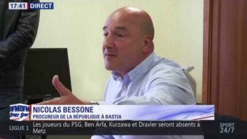 Incidents à Bastia: le procureur donne le déroulé des faits