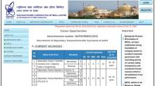 NPCIL Recruitment 2018 For 88 Stipendiary Trainees