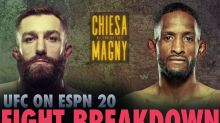 UFC on ESPN 20 breakdown: The pick is a finish – but for Michael Chiesa or Neil Magny?
