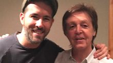 Ryan Reynolds Zings Paul McCartney Over Their 'Dream' Meeting