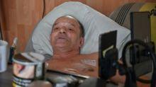 Francês com doença incurável aceita se alimentar após tentar se deixar morrer
