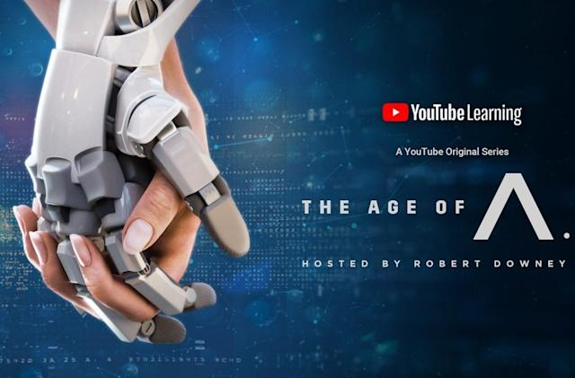 YouTube's AI docuseries with Robert Downey Jr arrives on December 18th