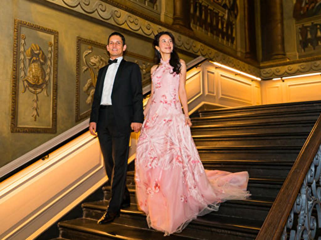 Karen Mok And Husband Held Anniversary Party