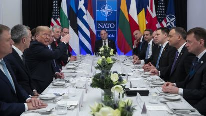 NATO conference scrapped after Trump critic barred