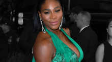 Serena Williams Had A Super Keen '50s Themed Baby Shower