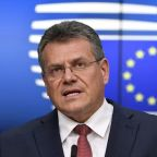Northern Irish Brexit issue is two-way street, says EU's Sefcovic
