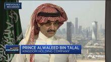 Prince Alwaleed Bin Talal: Dependence on oil is dropping