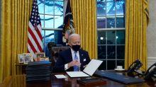 El sutil y genial cambio de Biden en el Despacho Oval