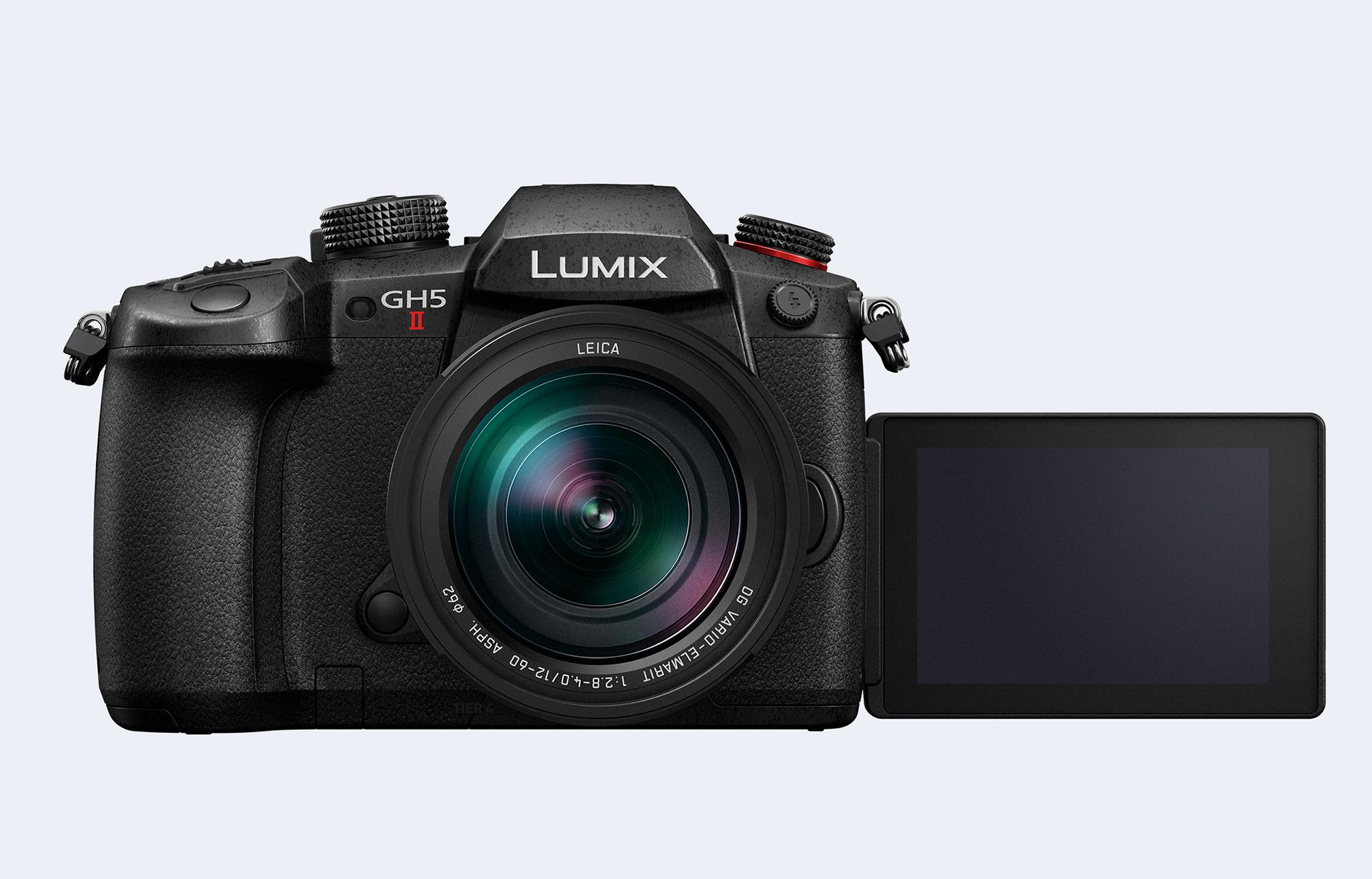 Panasonic's refreshed GH5 II adds video options and live streaming features