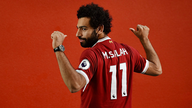 Salah gets Liverpool's No. 11 shirt as Firmino takes 9
