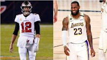 'Washed up' LeBron James thanks Tom Brady after winning 4th title