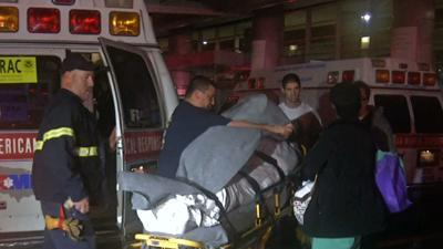 Raw: Patients moved as NYC hospital loses power