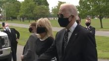Joe Biden Makes First In-person Appearance in Over 2 Months at Delaware Veterans Park