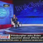 Biden Takes Question On Fracking