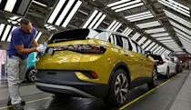 VW will start making an ID.5 electric SUV 'coupe' later in 2021