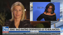 Laura Ingraham accuses Oprah of 'race-baiting' during speech for Stacey Abrams