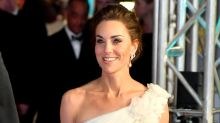 Kate Middleton Wore a Stunning White Floral Gown to the BAFTAs
