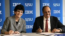 IBM-San Jose State deal will prepare students for jobs not yet invented