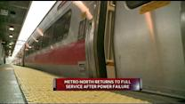 Metro-North Returns to Full Service After Power Failure