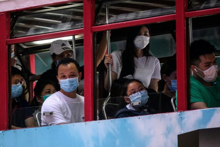 Taipei officials routinely avoid travelling to Hong Kong due to recent frictions (AFP Photo/Anthony WALLACE)