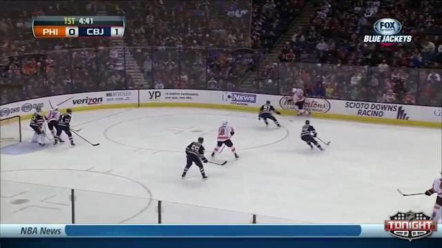 Philadelphia Flyers at Columbus Blue Jackets - 01/23/2014