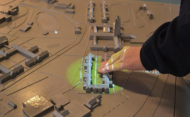 3D talking map can help the blind find their way