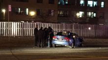 Child in car seat believed unharmed after shooting victim crashes car in Rexdale