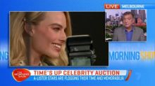 Stars donate items for celebrity auction