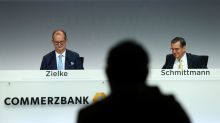 German union in show of strength as Commerzbank's top duo exit