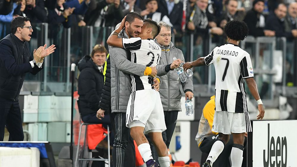 Juventus working on Dybala and Bonucci contracts, says Marotta