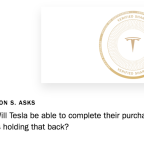 From Insurance to Batteries, Here Are Tesla's Responses to Shareholders' Questions