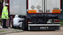 Two people arrested in connection with discovery of 39 dead Chinese migrants in lorry in Essex