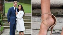 ¿Por qué Meghan Markle siempre lleva zapatos grandes?