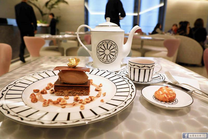 【東京 銀座ginza six美食】Cafe'Dior by Pierre Herme':拜訪「甜點之王」貴婦風高級美味下午茶 @就愛去日本 - 右上的世界食旅