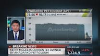 Anadarko shares lower on Kerr-McGee ruling