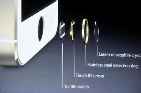 Apple reveals Touch ID, a fingerprint sensor built into the iPhone 5s