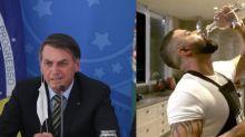 "Bolsonaro defende Gusttavo Lima: ""Herói na luta contra o Covid-19"""