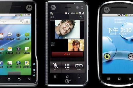 Motorola's XT701, MT710, and XT800 do Android for China's big three carriers