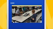 FSU Football Star Joins Boy With Autism Sitting Alone at Lunch