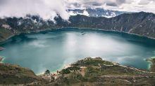 Quilotoa, el lago increíble escondido entre las montañas de los Andes